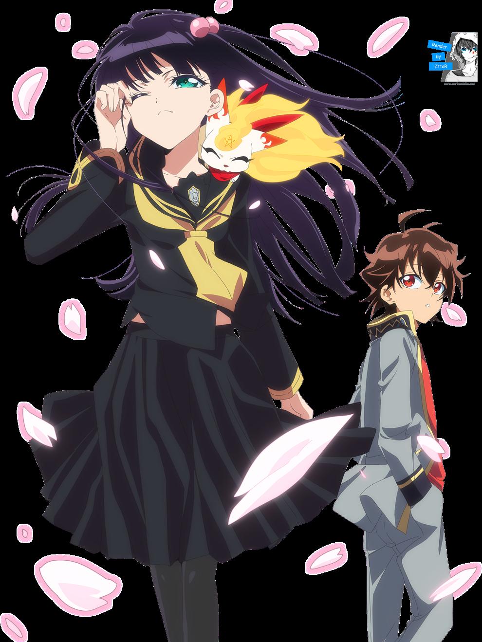 Render Adashino Benio & Enmadou Rokuro