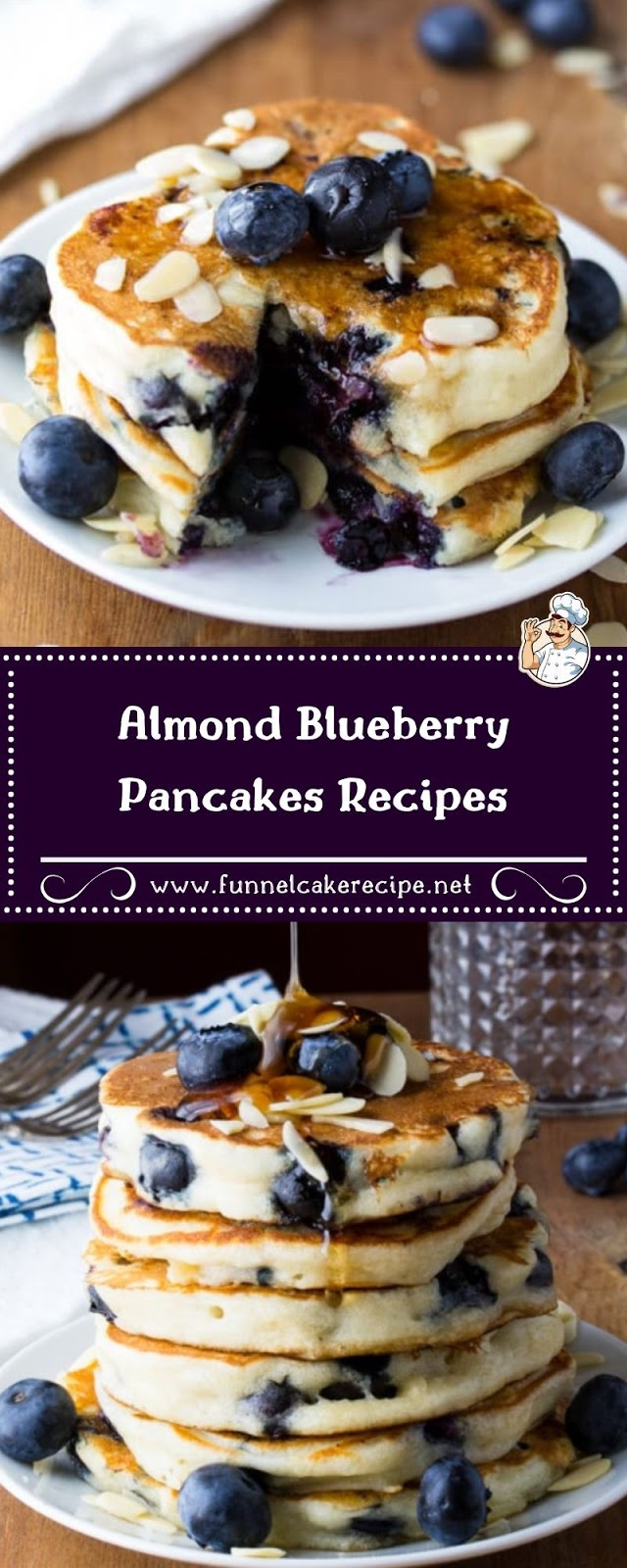 Almond Blueberry Pancakes Recipes