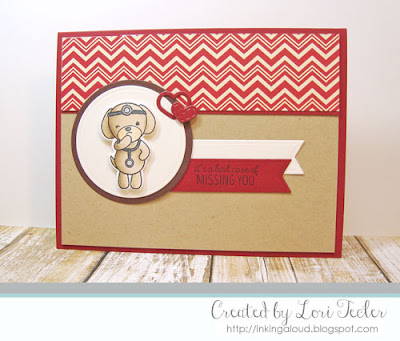 A Bad Case of Missing You card-designed by Lori Tecler/Inking Aloud-stamps from WPlus9