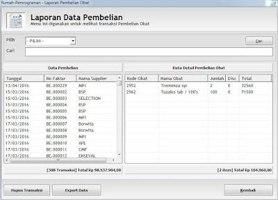 Download Source Code Program Aplikasi Rekap