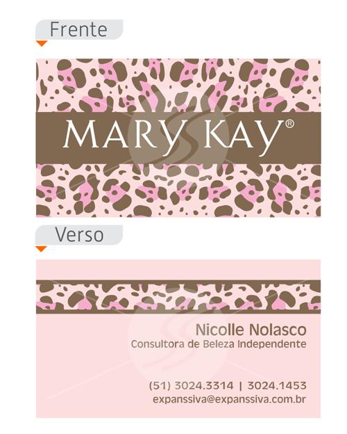 cart%25C3%25B5es%2Bde%2Bvisita%2Bmary%2Bkay%2Bcriativos%2B%252810%2529 - 20 Cartões de Visita Mary Kay Top de Criatividade