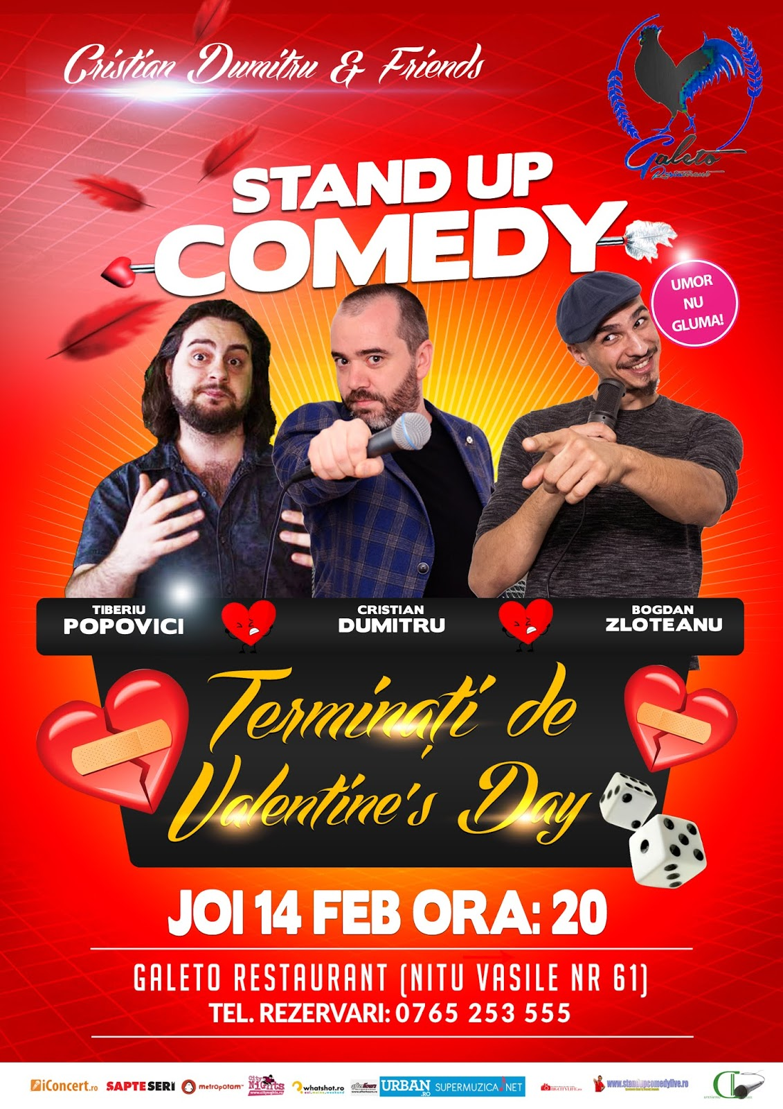 Stand-Up Comedy de Valentine's Day in Bucuresti