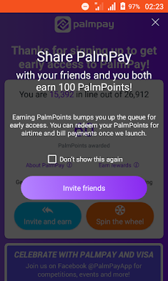 How to Get Free Airtime and Money from Palmpay Application (100% Real)