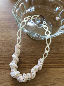 Spiral Stitch Necklace