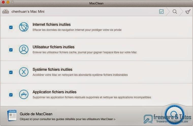 imobie macclean un nettoyeur gratuit pour votre mac freewares tutos. Black Bedroom Furniture Sets. Home Design Ideas