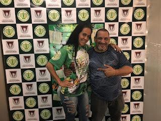 Mônica Menezes nova porta-bandeira do Império da Tijuca e Presidente TÊ