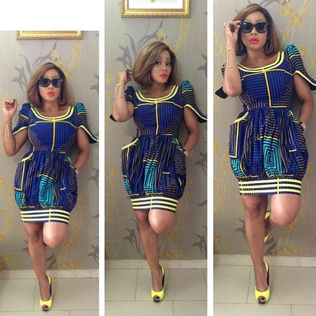African Dresses Ankara Gown Design - DeZango Fashion Zone
