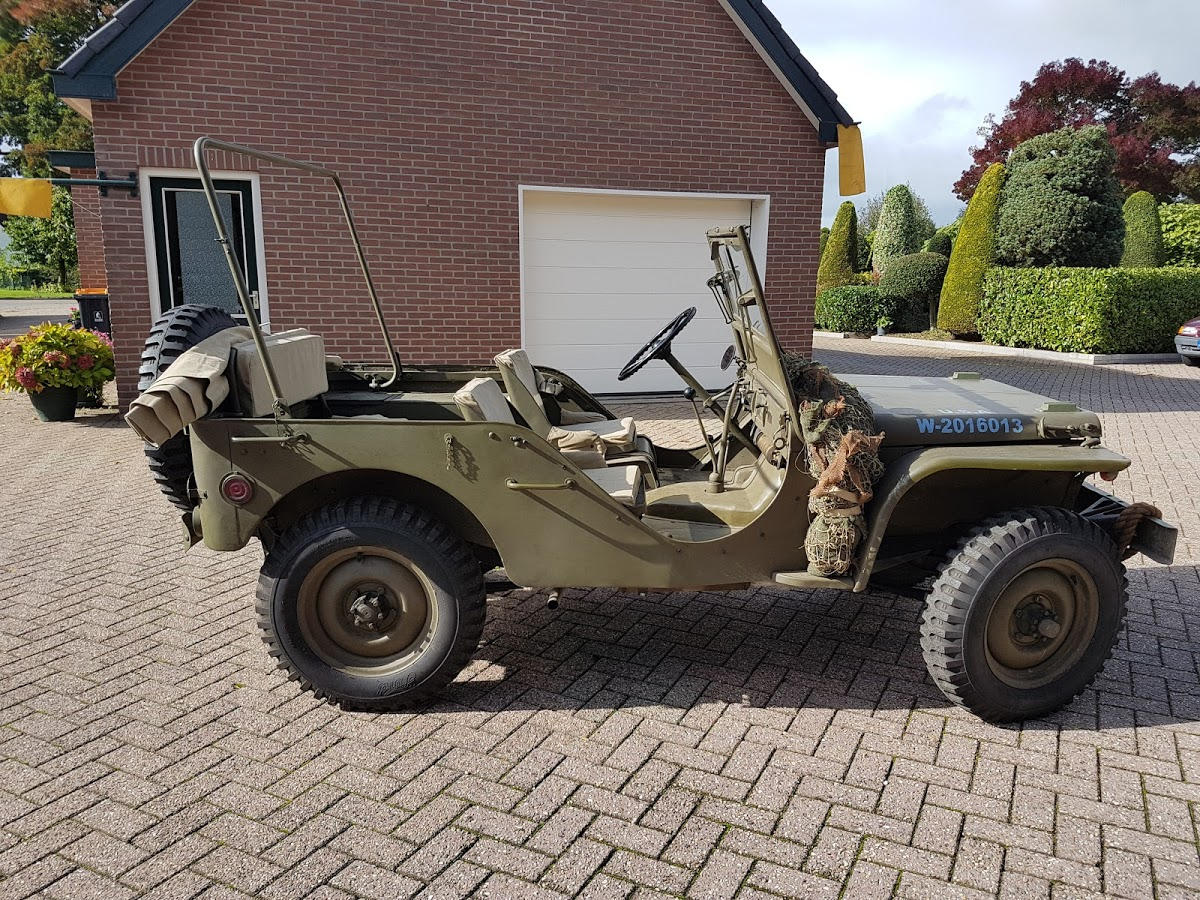 Airborne Garage B V  The Netherlands: Ford GP early Jeep for sale te