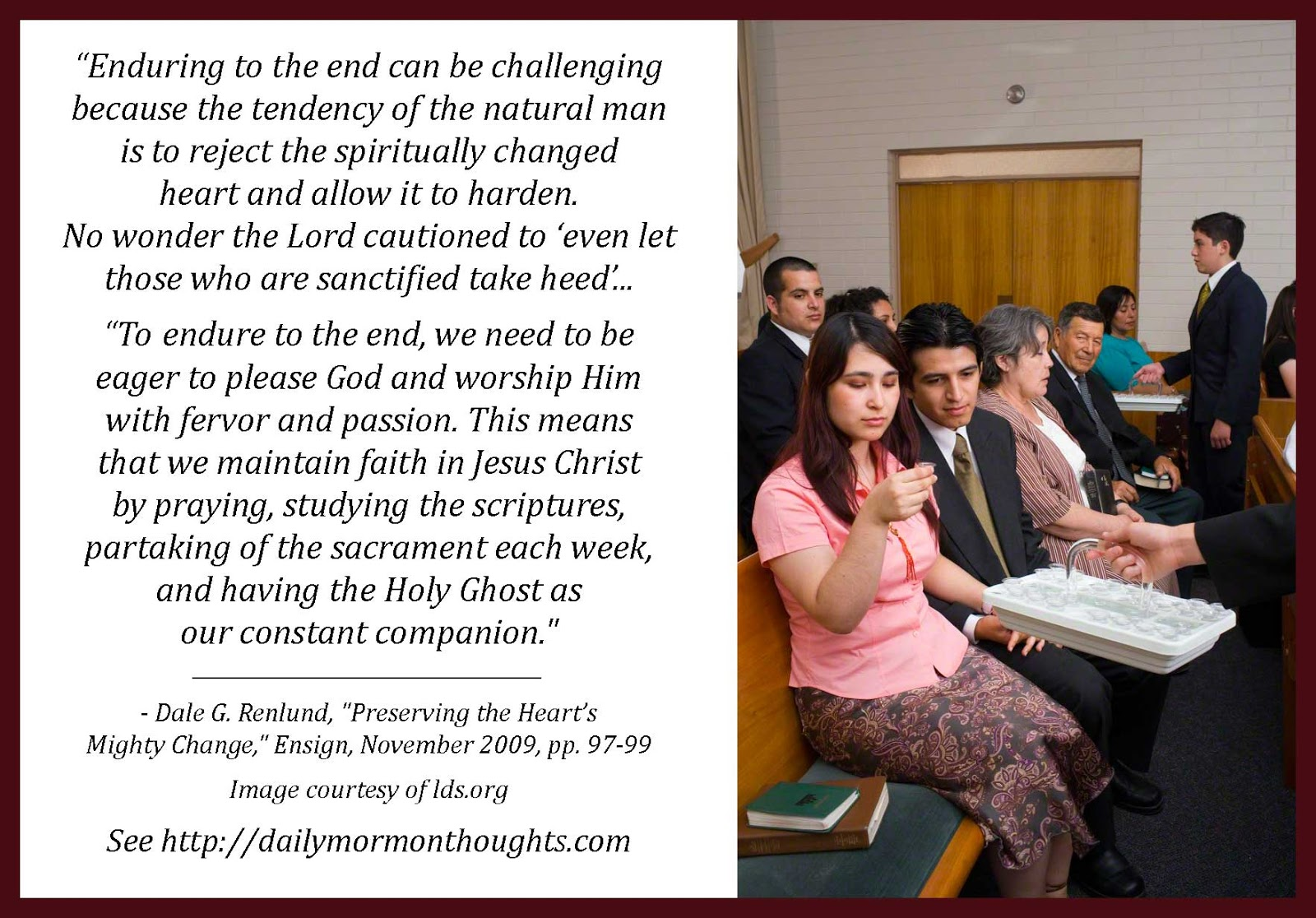 Daily Thought From Modern Prophets: Dale G. Renlund On