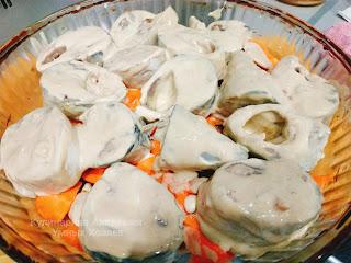 Скумбрия запеченная в горчичном соусе