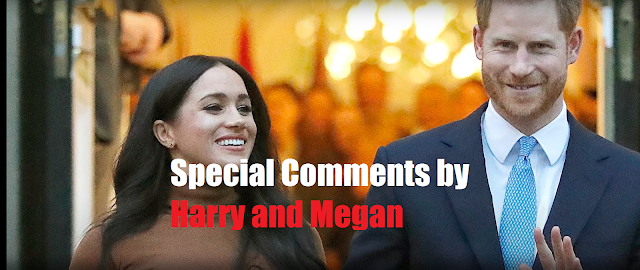Special Comments by Harry and Megan raises doubt about supporting a certain candidate.