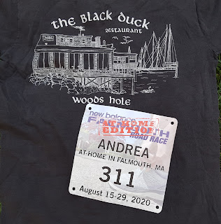black t-shirt, racing number