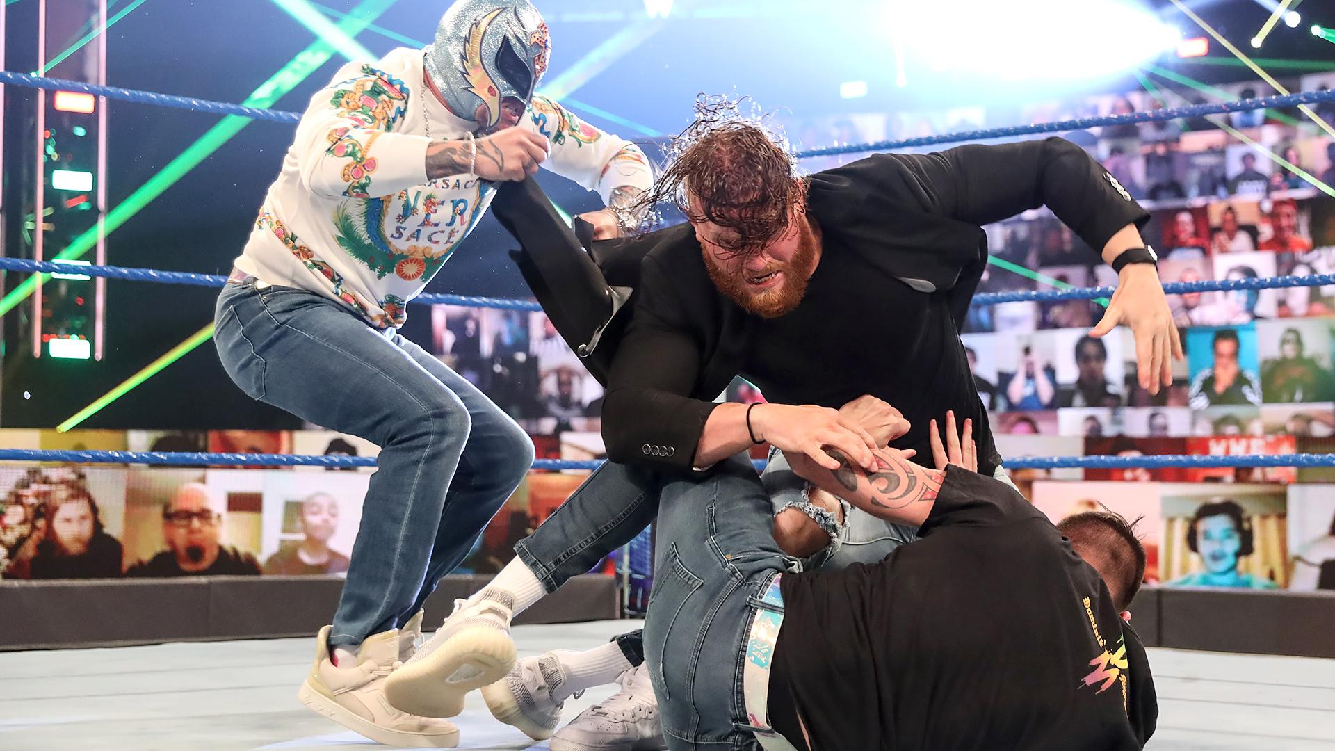Segmento de Aalyah Mysterio e Murphy foi muito bem recebido nos bastidores da WWE