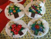 Homemade tree ornaments