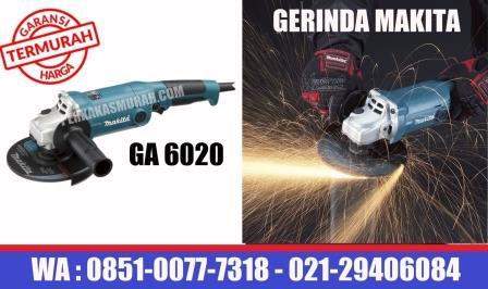 harga gerinda makita type GA6020, mesin gerinda makita, grinder GA6020 , makita mesin gerinda tangan GA6020, makita GA6020 spec, makita grinder GA7020price, perkakas murah jakarta, dealer makita jakarta