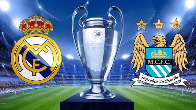 موعد مباراة ريال مدريد ومانشستر سيتي بث مباشر بتاريخ 07-08-2020 في دوري أبطال أوروبا