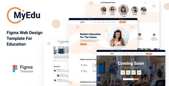 Best Online Education Premium UI Template
