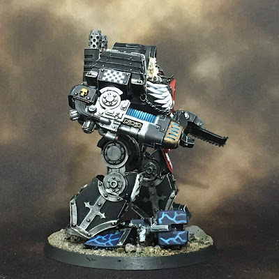 Horus Heresy Dark Angels Contemptor Dreadnought - Right Side