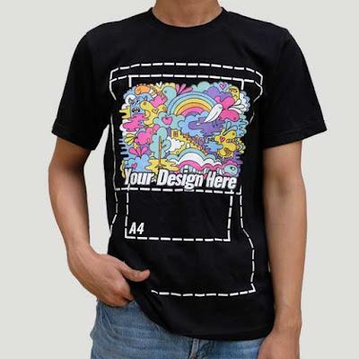 3 Alasan Memilih Print Kaos DTG