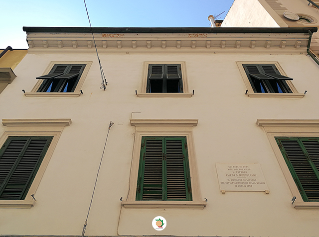 Modigliani casa livorno