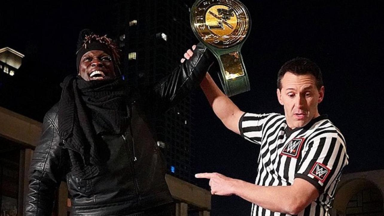 R-Truth atinge grande marca como campeão na WWE