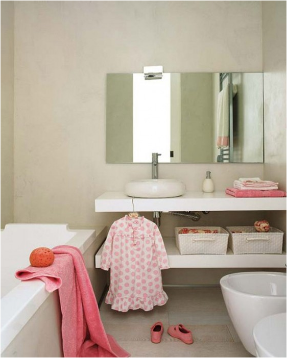Key Interiors By Shinay: Young Girls Bathroom Ideas