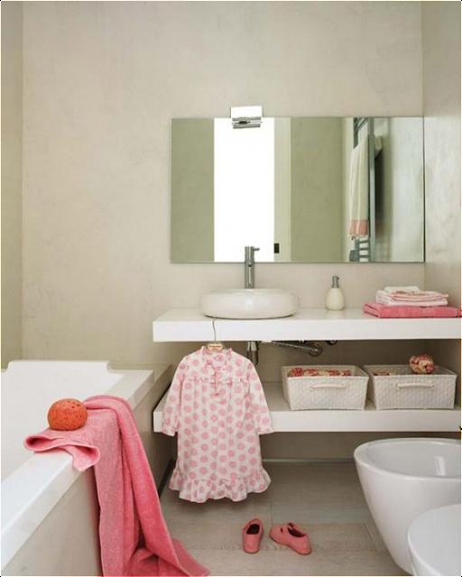 Key Interiors By Shinay Transitional Bathroom Design Ideas: Key Interiors By Shinay: Young Girls Bathroom Ideas