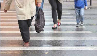 atropello paso peatones sin lesiones