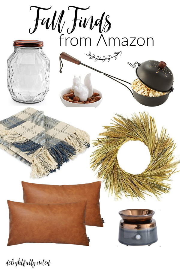 fall decor finds on amazon