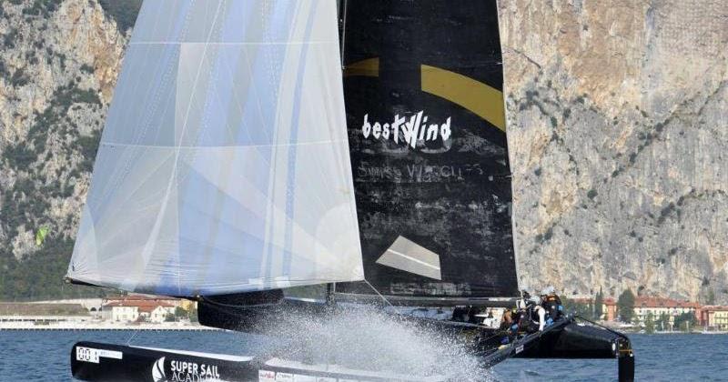 Centomiglia, il North West Garda Sailing sfiora l'impresa
