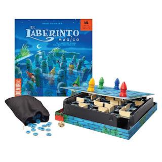 El laberinto mágico juego de mesa