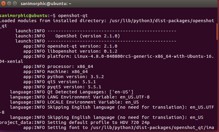 Install OpenShot Video Editor 2 1 0 on Ubuntu / Linux Mint