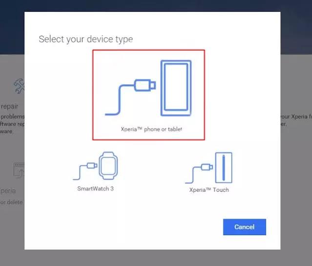 Flash Sony Xperia via PC Companion
