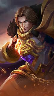 Tigreal Warrior Of Dawn Heroes Tank of Skins V1