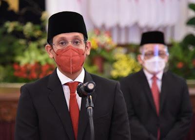 Usai Dilantik Presiden Jokowi, Nadiem Makarim Siap Bekerja Sama dengan BRIN untuk Tingkatkan Inovasi