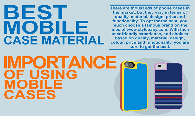 IMPORTANCE OF USING MOBILE CASES #INFOGRAPHIC