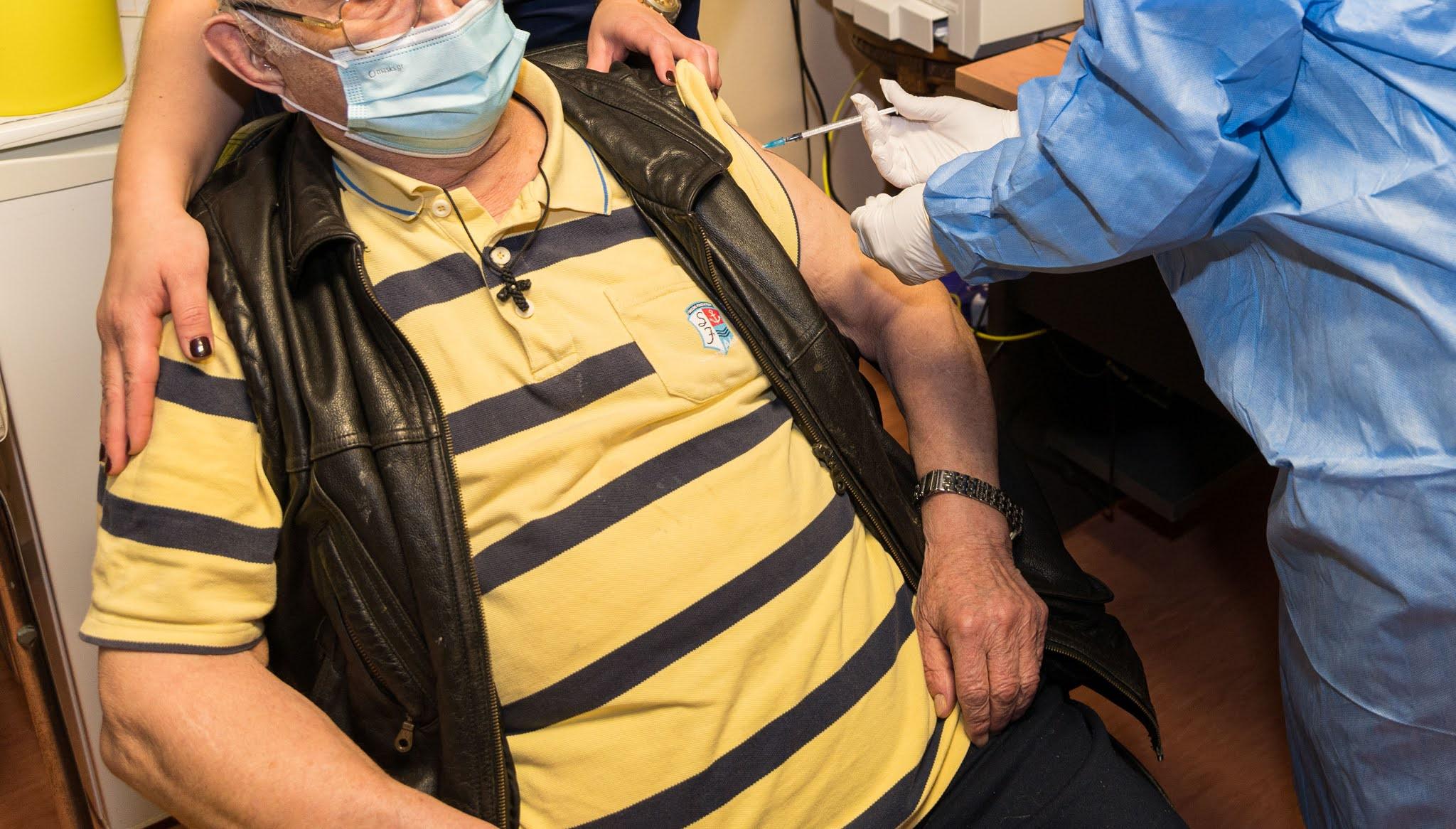 Έκανε το εμβόλιο για τον κορονοϊό ο Μητροπολίτης Ξάνθης