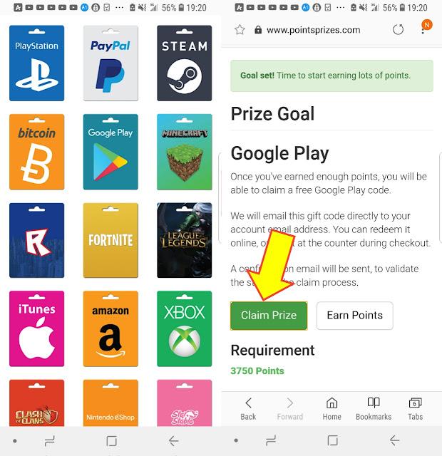 شرح طريقة الحصول على بطاقات جوجل بلاي مجانا وشحن رصيد ببجي pubg mobile