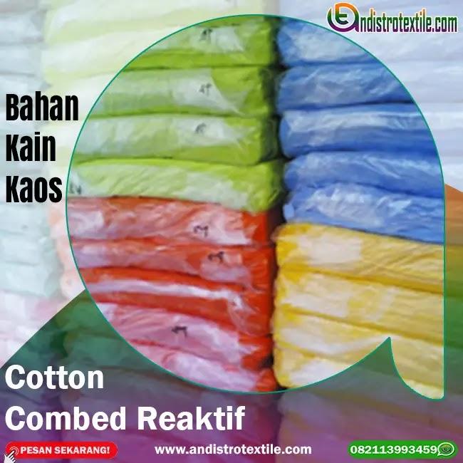 Toko Bahan Kaos Cotton Combed 30s Tasikmalaya