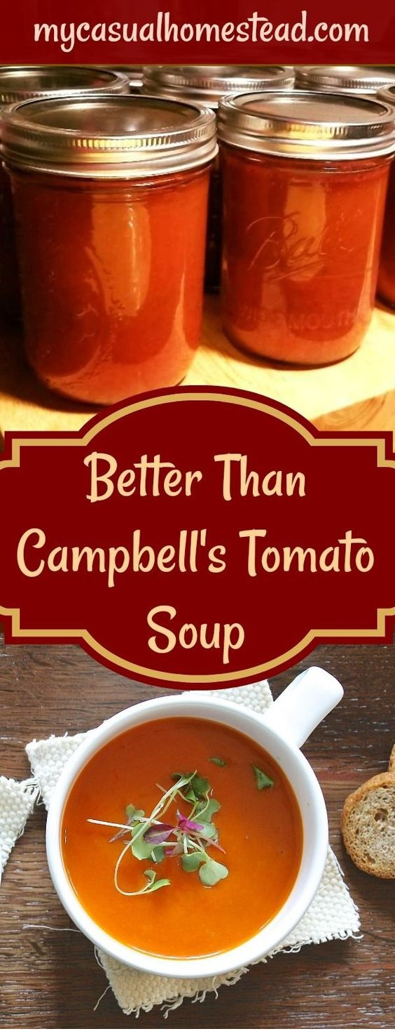 Better Than Campbell's Tomato Soup