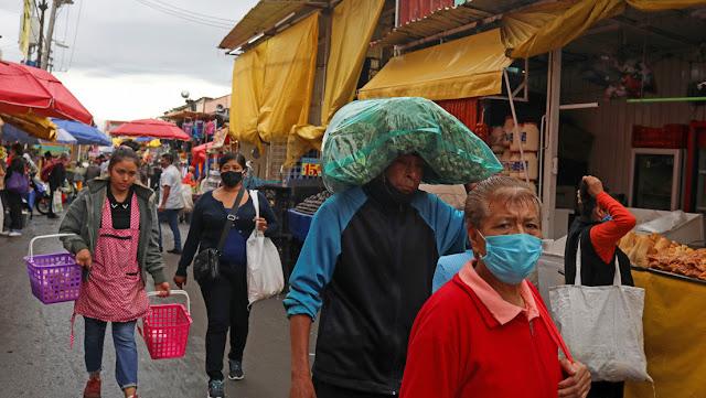 La pandemia derrumba el PIB de México al peor registro de su historia