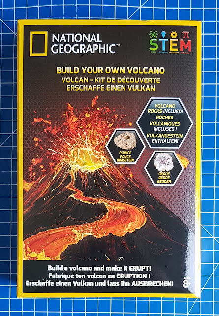 National Geographic Build Your Own Volcano Kit box photo