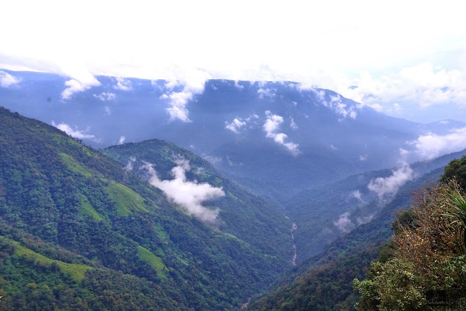 Mawsynram,Meghalaya,India.