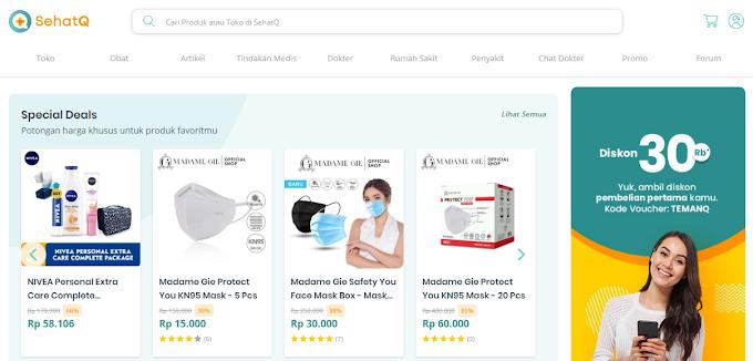 SehatQ.com, Aplikasi Kesehatan dalam Genggaman