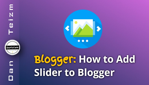 How to Add Slider to Blogger