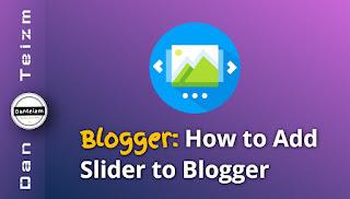 Slider for Blogger