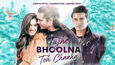 Lyrics Of New Song Tujhe Bhoolna Toh Chaaha Sung By Jubin nautiyal