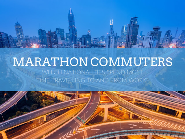 Marathon Commuters: Which nationalities spend most time travelling to and from work?