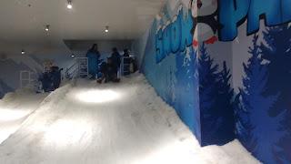 Berseluncur di Snow Park