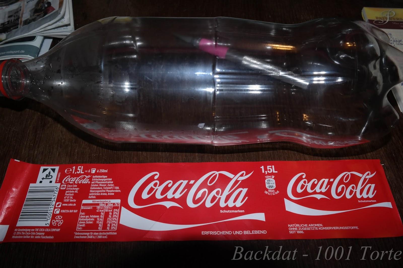 Backdat 1001 Torte Cola Flaschen Kuchen